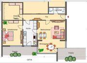 Vollständig renovierte 2 5-Zimmer-Einlieger-Wohnung mit