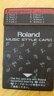 ROLAND Style Card