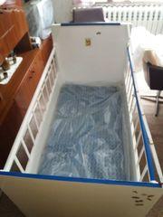 Kinderbett Gitter komplett mit Decke