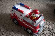 Paw Patrol Marshall mit Fahrzeug