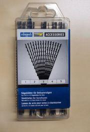 Scheppach Sägeblätter für Dekupiersäge NEU