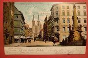AK historisch Würzburg Domstrasse 1905