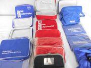 Apothekenreisetaschen Blau Rot Schwarz a