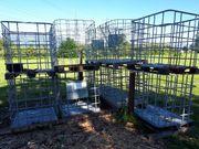 8 Stück IBC Gitterboxen für