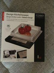 Küchenwaage Caso mit Klimastation neu