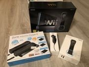 Nintendo Wii Schwarz XL Paket