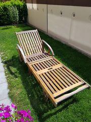 Gartenmöbelset aus Teak - Tisch 6