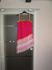 Faschingskostüm Kleid Charleston pink Gr