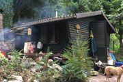 Garten mit Hütte zum pachten