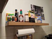 Wandboard mit Küchenrollenhalter Top Zustand