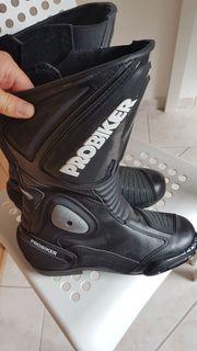 Motorrad Stiefel Damen Probiker schwarz