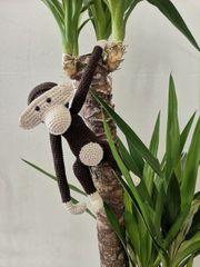 selbstgehäkelter Kay bojesen Affe crochet