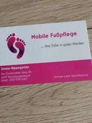 Mobile Fußpflege