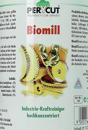 Biomill 192 reinigt Maschinen Motoren