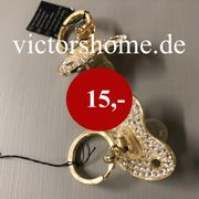 Modeschmuck Halskette Schnuller mit Steinen