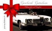 Cadillac Cabrio Fahrt - Erlebnis-Geschenk-Gutschein Geburtstag