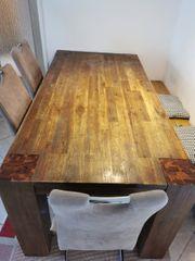 Esstisch Massivholz Tisch Küchentisch