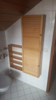 Badezimmer-Regal Holz