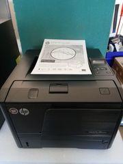 HP Pro 400 M401dne Laserdrucker