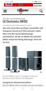 Blu-ray Komplettanlage LG