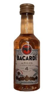 3 Miniaturen Bacardi 4 Jahre