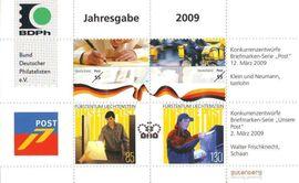 BRD: 2009, Jahresgabe des BDPh e. V., mit Zeitschrift