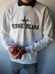 Stone Island Sweater Pullover Weiß