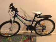 Neues Mädchen Fahrrad