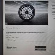 Porsche Winterkomplettradsatz 20 Zoll