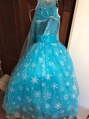 Prinzessin Elsa Eiskönigin Kleid Kostüm