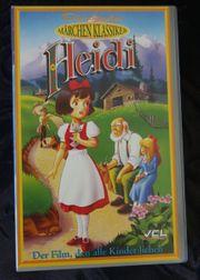 Heidi Märchenklassiker VHS