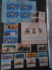 Briefmarken-Sammlung -DDR - BRD