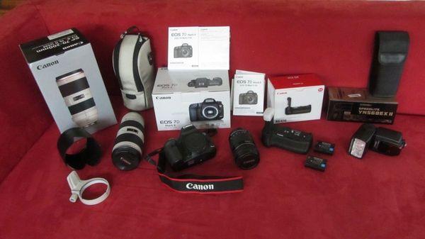 Canon DSLR Kamera-Ausrüstung EOS-7D Mark