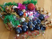 Konvolut Deco CHRISTBAUMKUGEL Festtags-Glöckchen Weihnachtsschmuck