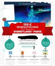 Reisegutschein für 2 Personen Disneyland