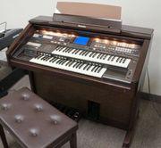 Technik GA3 elektrische Orgel
