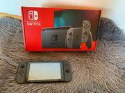 Verkaufe Nintendo Switch Grau neue