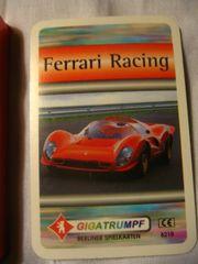 Kartenspiel Ferrari Racing Quartett von