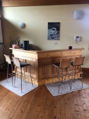 Bar Theke aus Holz inkl