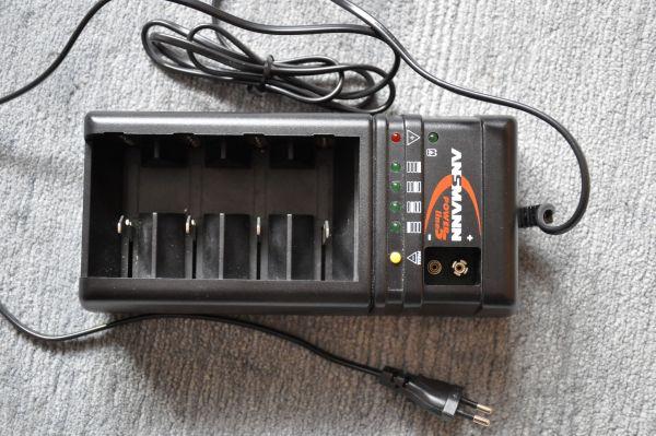 Batterieladegerät Ansmann powerline 5