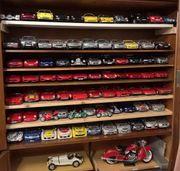 80 verschiedene Modellautos 1 18