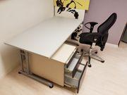 Büromöbel Tische Stuhl Containerl in