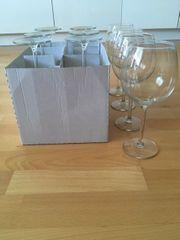 Gläser Rotwein