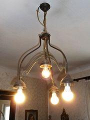 Echt alte schöne Deckenlampe Lampe