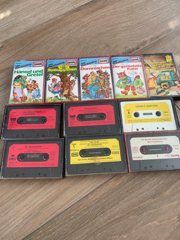 11 Märchen-Kassetten 80er Jahre