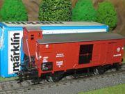 Märklin 4695 Gedeckter Güterwagen mit