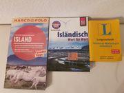 Island Bücher - Wörterbuch Sprachbuch Reiseführer