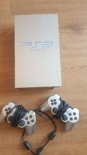 Playstation 2 PS2 Silber mit