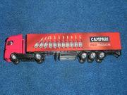 Werbe LKW Campari für Modellbahn