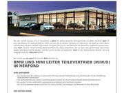 BMW und MINI Leiter Teilevertrieb